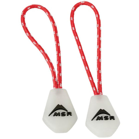 MSR - Night Glow Zipper Pulls (2 Pack)