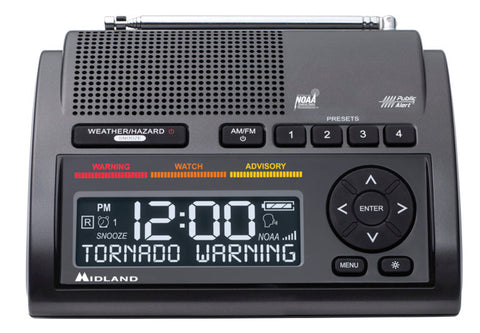 Midland - WR400 Deluxe Weather Alert Radio. This weather radio would make a great addition to your emergency home preparedness