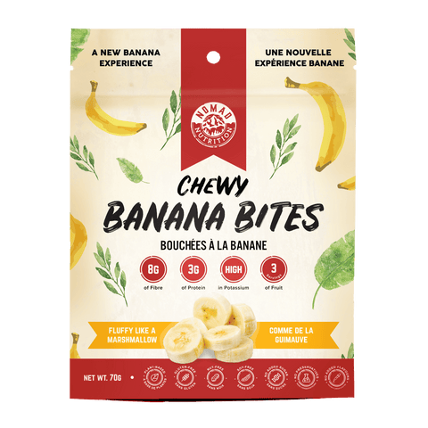 Nomad Nutrition - Chewy Banana Bites