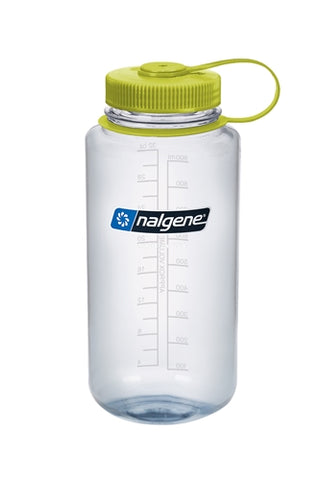 Nalgene - 32oz Wide Mouth Bottle, Clear