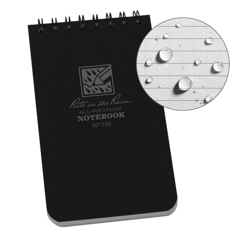 Rite in the Rain - POCKET TOP-SPIRAL NOTEBOOK (3 x 5)