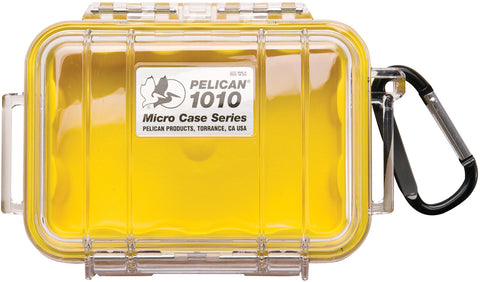 Pelican - 1010 Micro Case, Yellow