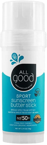 All Good - SPF 50+ Sport Sunscreen Butter Stick, 78g