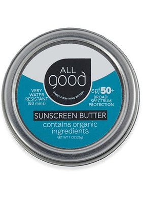 All Good - SPF 50+ Sunscreen Butter, 1 oz.
