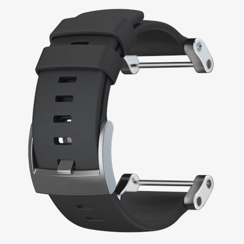 Suunto - Core Flat Black Rubber Strap