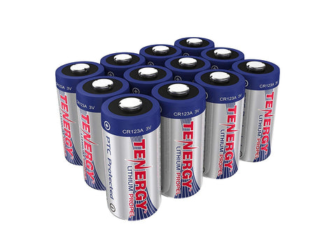 Fenix - Tenergy, CR123a Batteries (10 Pack)
