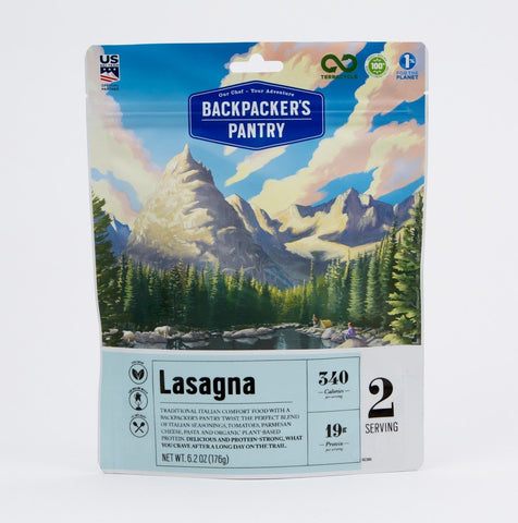 BackPackers Pantry - Vegtable Lasagna