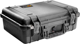 Pelican - 1500 Protector Case, Black with foam