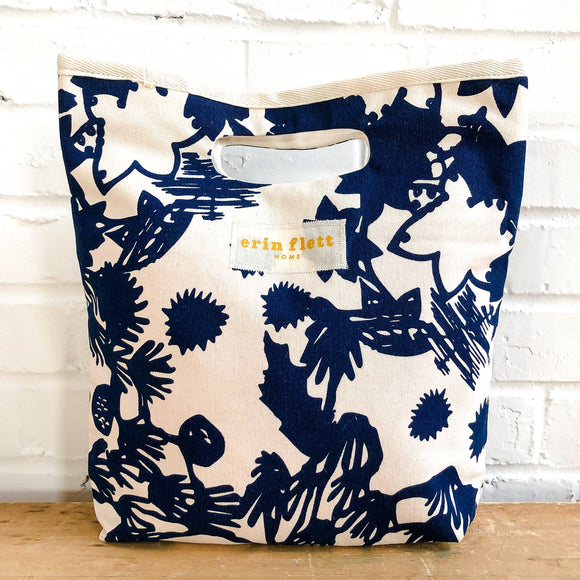 Navy Deep Woods Lunch Bag