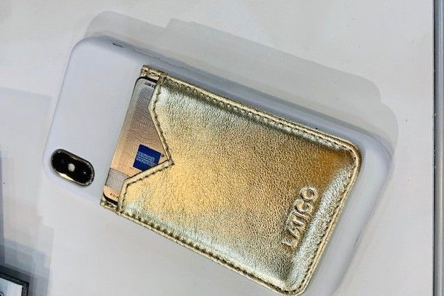 Adhesive Credit card holder by Latico