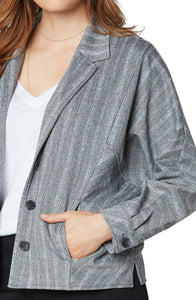 Cocoon Button Up Jacket