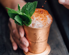 copper cup cocktail