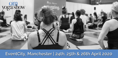 Palm To Soul Yoga At The OM Yoga Show Manchester April 2020