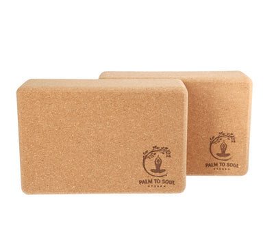 Cork Yoga Blocks (pair)