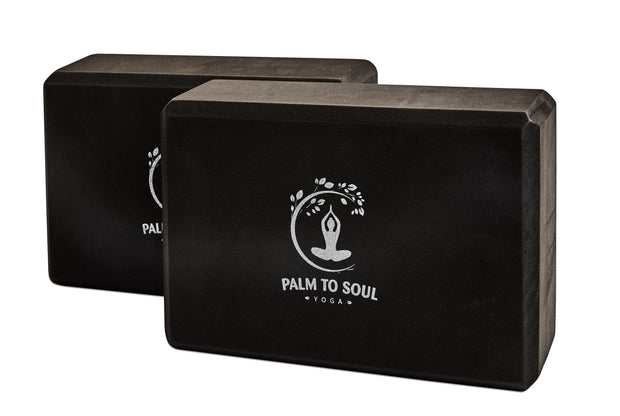 Yoga blocks (pair/set of 2) black