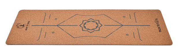 Natural cork with bio-rubber backing Alignment system design Blue