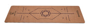 Natural cork with bio-rubber backing Alignment system design Purple