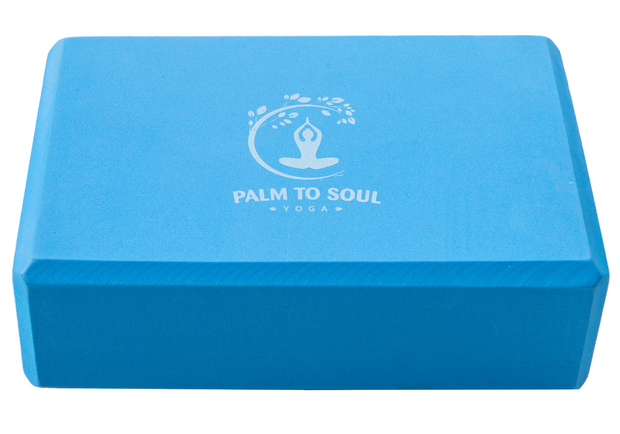 Yoga blocks (pair/set of 2) Light blue