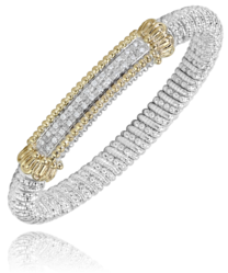 8mm Diamond Bar Bracelet