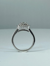 Load image into Gallery viewer, Princess Cut Double Halo Engagement Ring