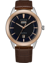 Load image into Gallery viewer, Citizen Gents Corso- Navy/Rose
