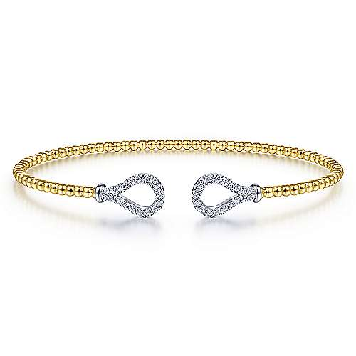 Diamond Loop Bangle