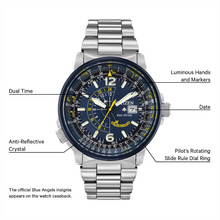 Load image into Gallery viewer, Citizen Gents Promaster Nighthawk Blue Angels