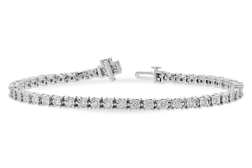 1.00 Ct Diamond Tennis Bracelet