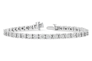 2.00 Ct Diamond Tennis Bracelet