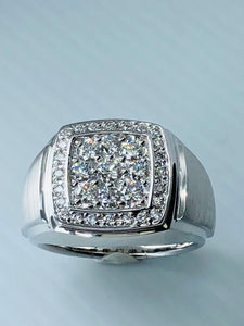 Men's Cluster Diamond Ring