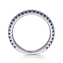 Load image into Gallery viewer, Sapphire Wedding Band