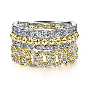 Multi Band Fashion Ring