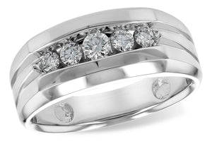 Gents Channel Design Wedding Band