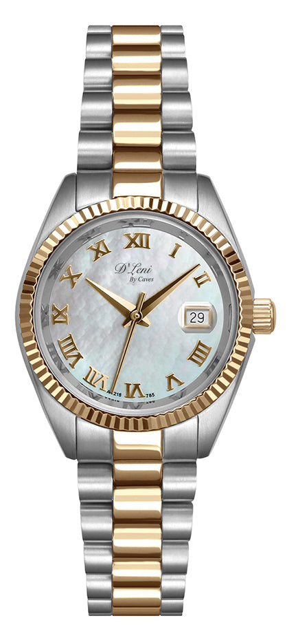 31mm Ladies two tone with MOP dial