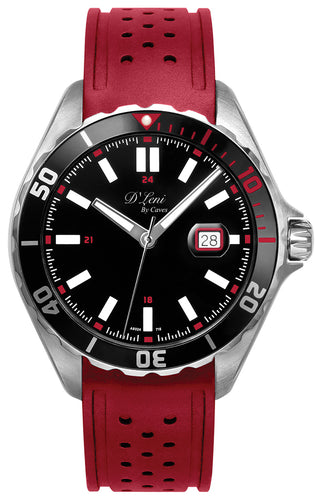 36mm Gents Sports Diver Red