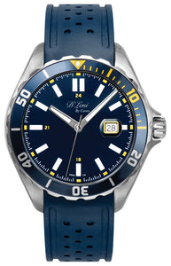 42mm Mens Diver Watch Blue