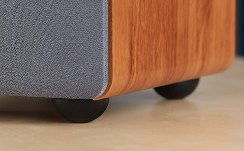 Isolation feet for 3 - 5 speakers