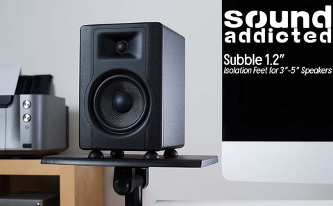 Subble 1.2 8pc isolation feet for studio monitors