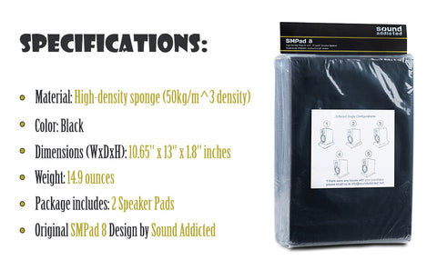 SMPad 8 Specifications Package