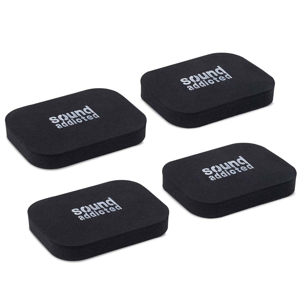 Isolation pads for sound bars