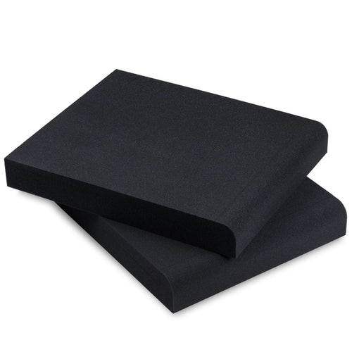 Studio Monitor Isolation Pads For 6.5 7 And 8 Inch Large Speakers | High Density Acoustic Foam Pair | Smpad 8