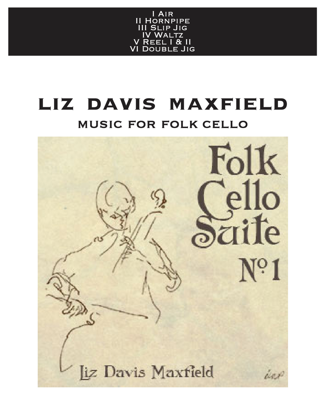 Folk Cello Suite Sheet Music