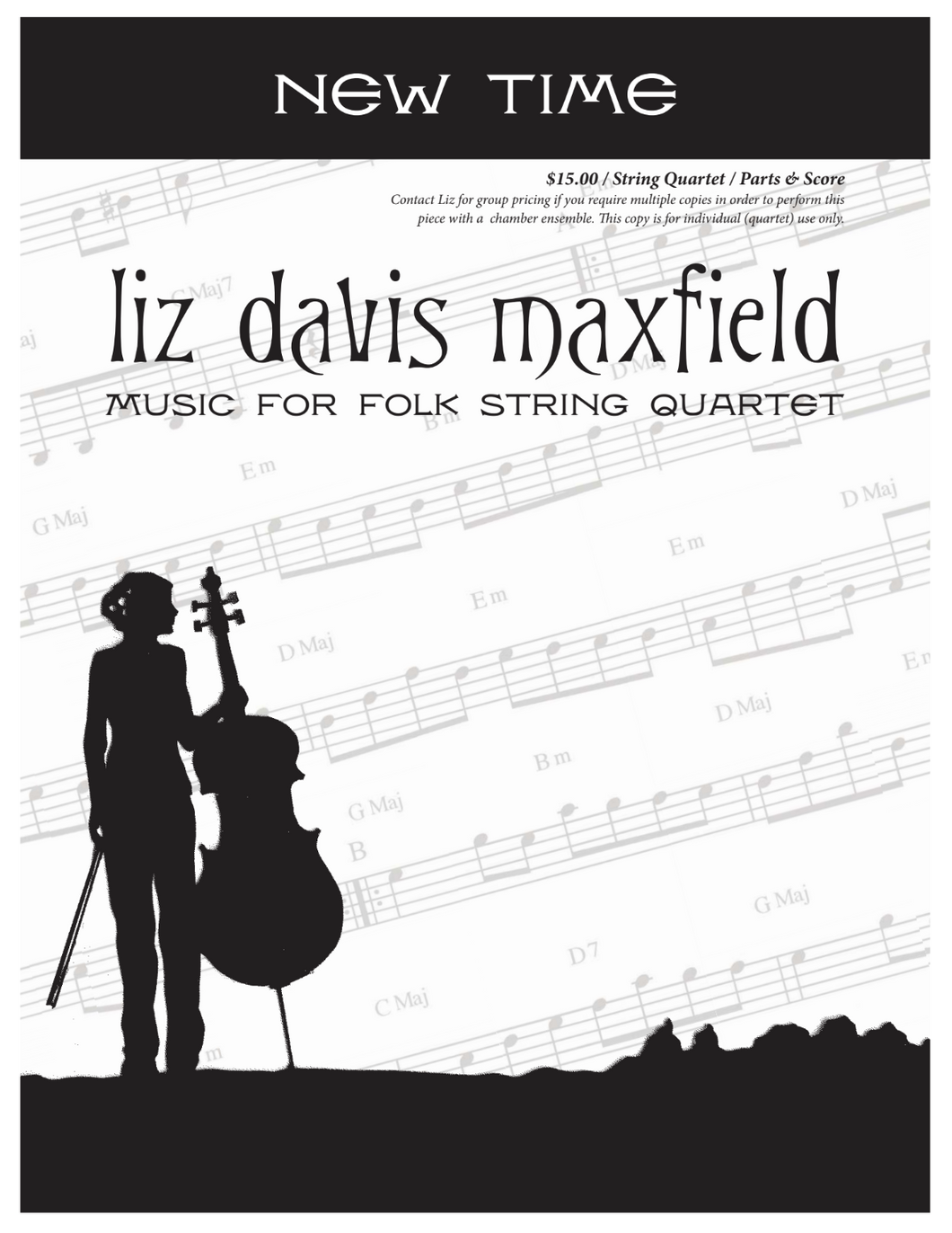 New Time String Quartet Sheet Music