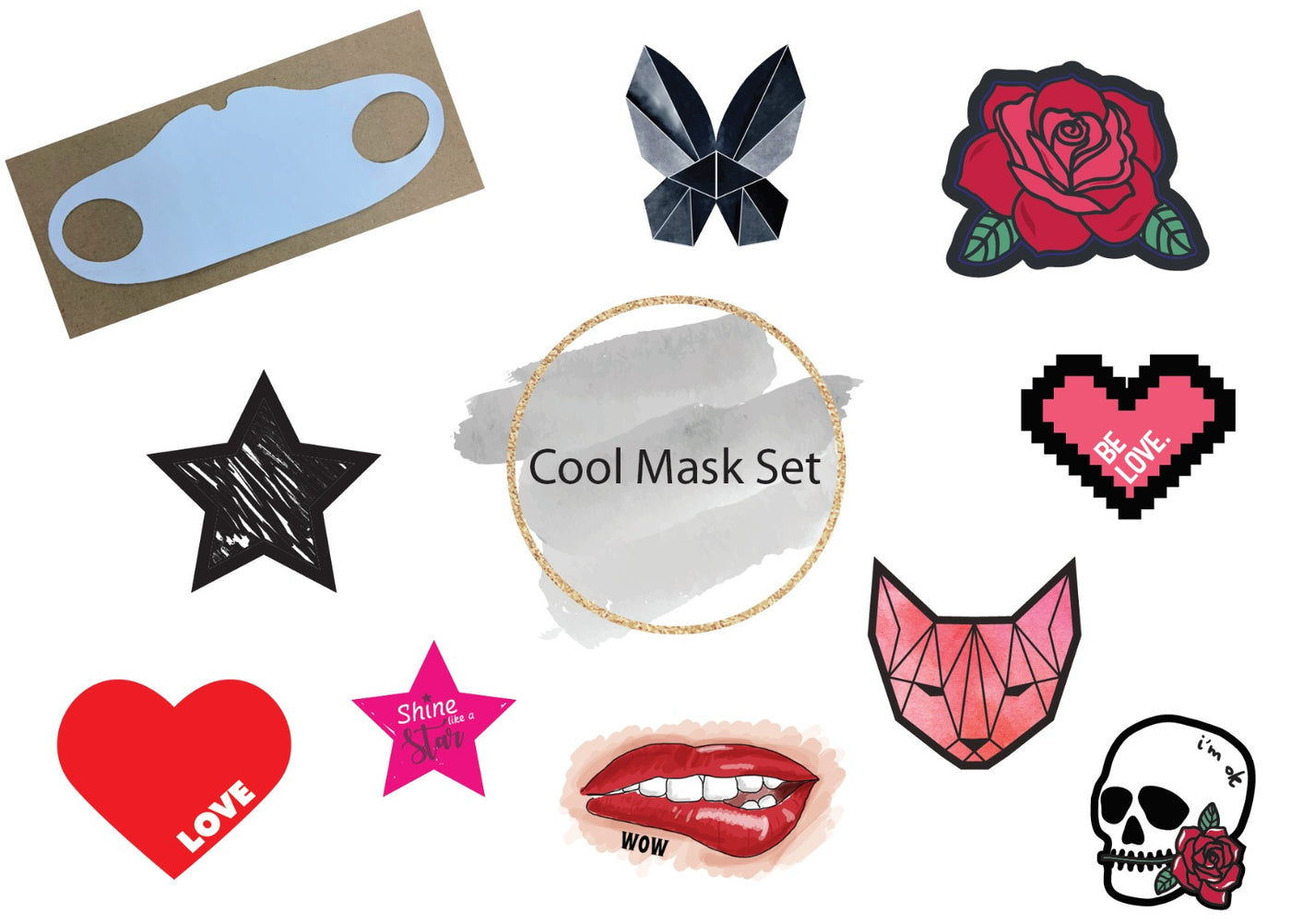 Cool mask Set