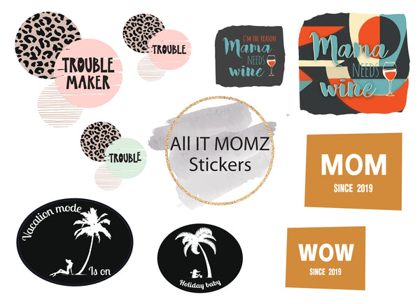 All IT MOMZ Stickers Set