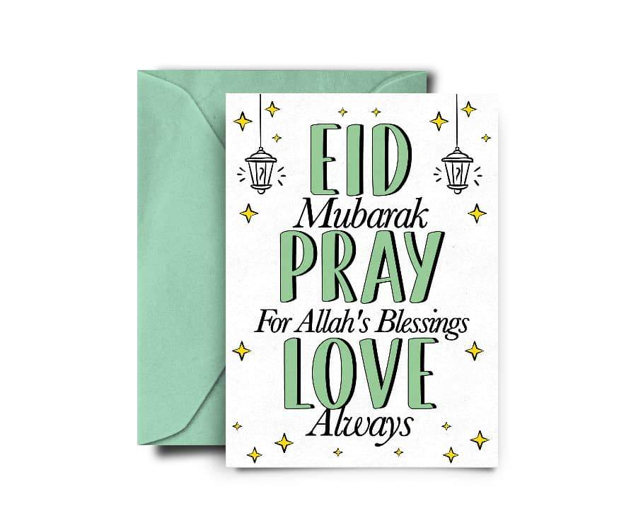 Eid Pray Love - Not Just Pulp