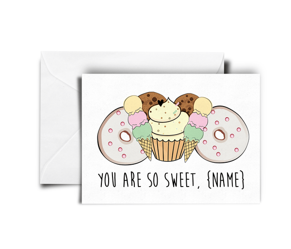 So Sweet_Sweetie_best friend card