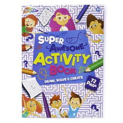 72 SHEET ACTIVITY BOOK