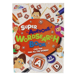 72 SHEET WORD SEARCH BOOK