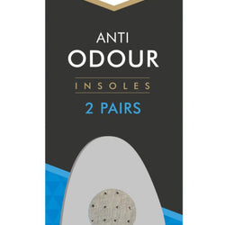 2 PACK ANTI ODOUR INSOLES